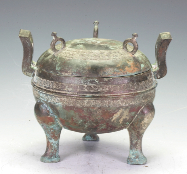 Covered Bronze Censer