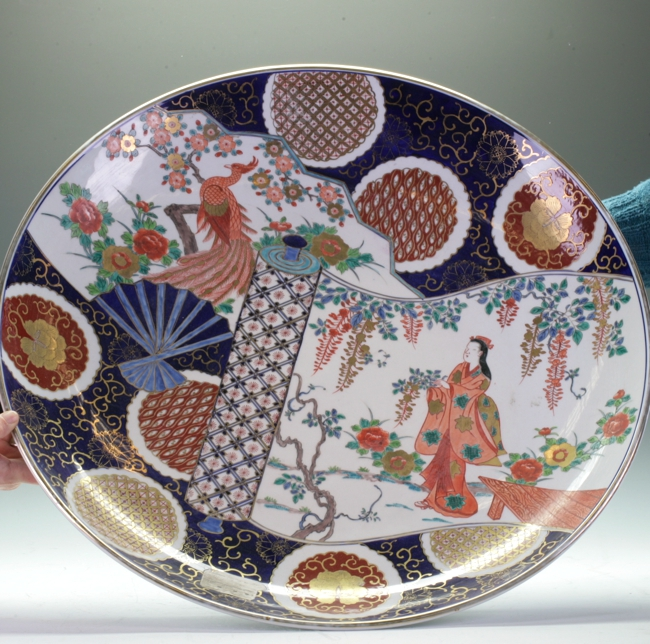 Very Large Japanese Imari Charger