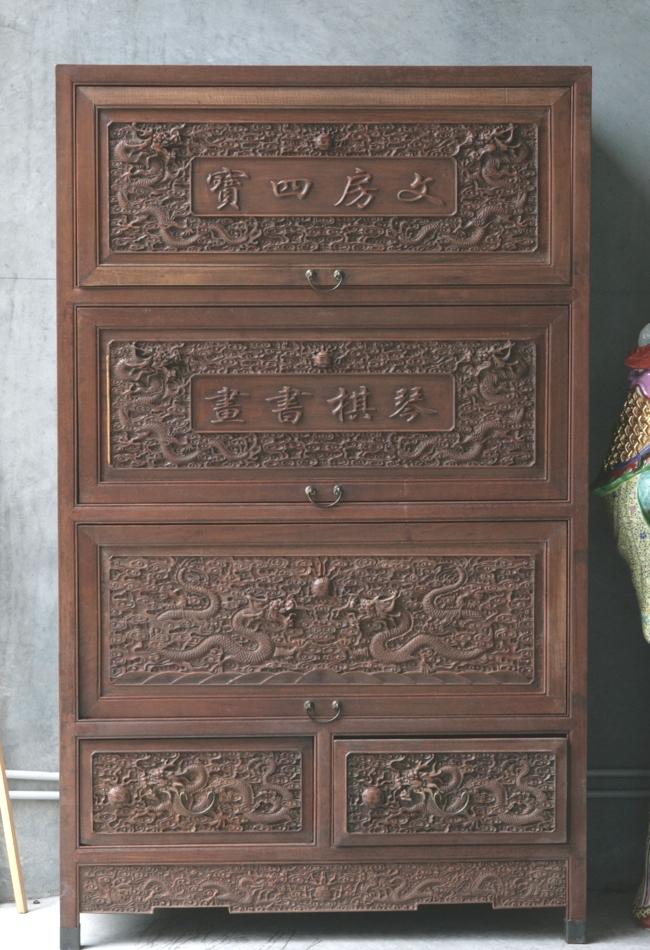 Hardwood Timber Cabinet