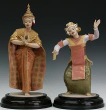 Pair of Royal Worcester figures