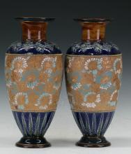Pair of doulton Vase