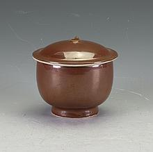 Chinese Covered Pottery Jar