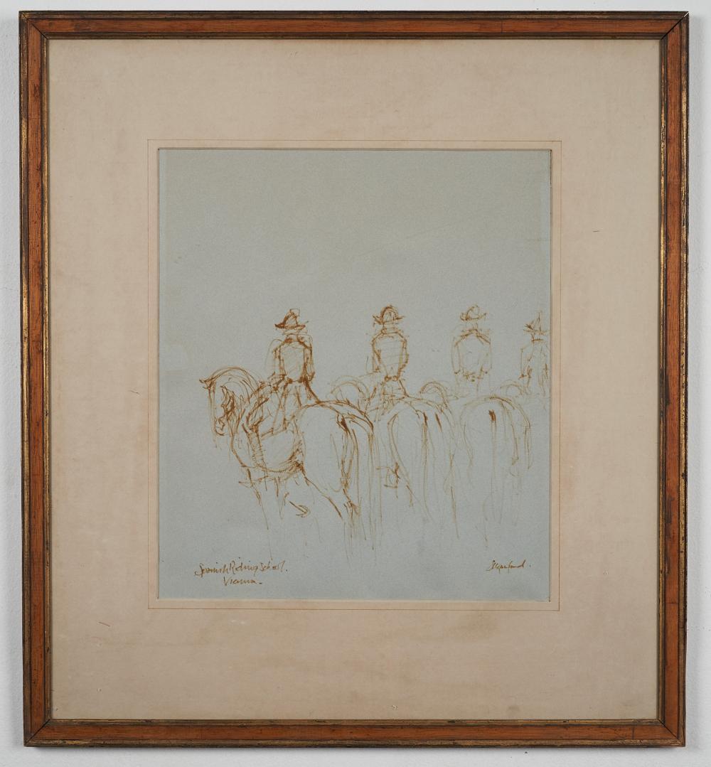 Susan Crawford Scottish (born 1941) Spanish Riding School Vienna