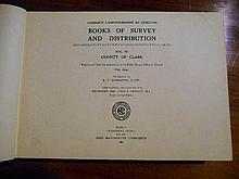 Book of Survey and Distribution being abstracts of