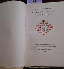 A Limited Edition Copy of: A Plurality of Words by
