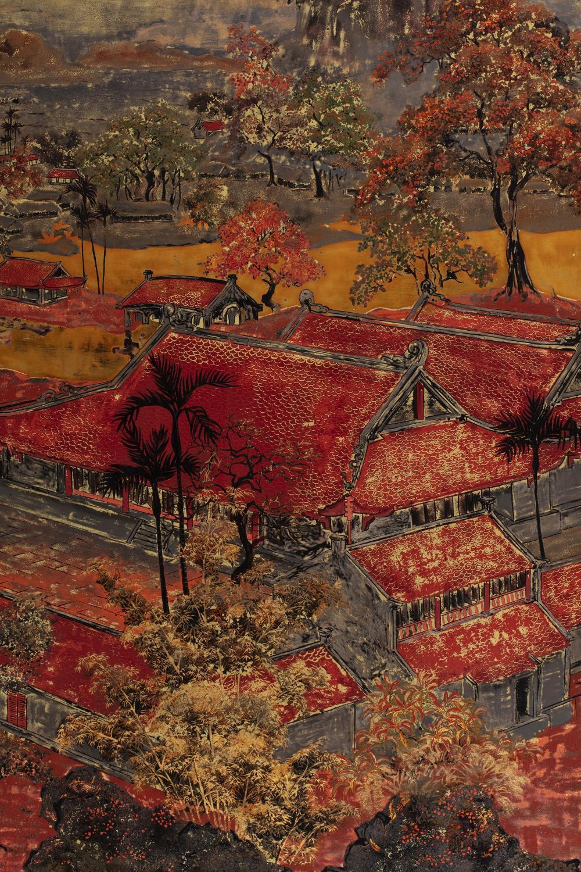 PHAM HAU (1903-1995) - La pagode Thay/ Thay Pagoda