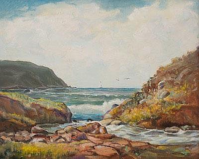 William Joseph Brown (American, 1865-1949) Carmel