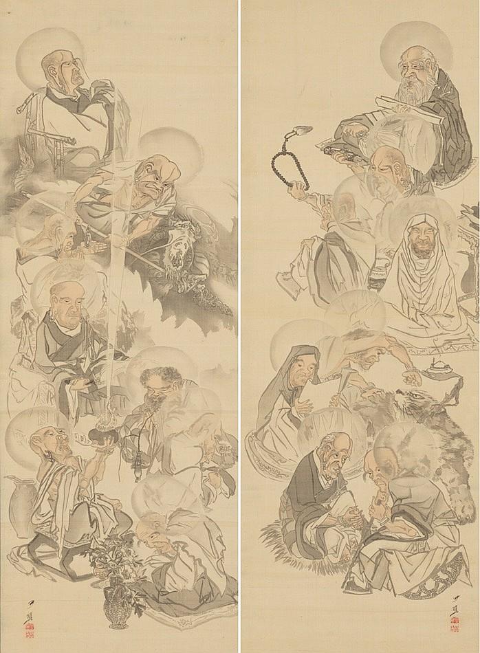 Cho Gessho (Japanese 1772-1832)