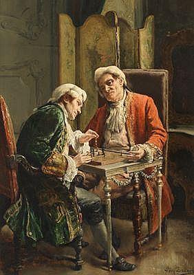 Leon De Muetter Brunin (Belgian, 1861-1949)