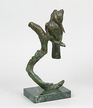 Laurence Isard (American, 1932-2009): Kingfisher