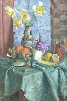 Bela Kontuly (Hungarian, 1904-1983): Still Life