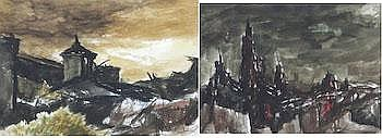 Raphael Gleitsmann (American, 1910-1995): Two