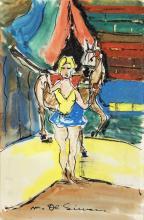 MICHELE DE SIMONE DOMATRICE DI CAVALLO CIRCUS HORSE TAMER