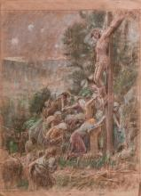 ADOLF HIRÃ?MY-HIRSCHL CROCIFISSIONE CRUCIFIXION