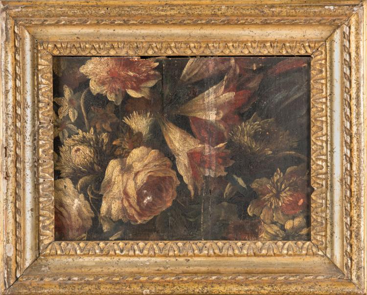 SCUOLA NAPOLETANA XVII SECOLO Natura morta di fiori. | Still life with flowers