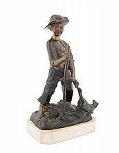 GIOVANNI DE MARTINO | NAPOLI 1870-NAPOLI 1935 | Il Guardiano delle Oche. | The geese guardian
