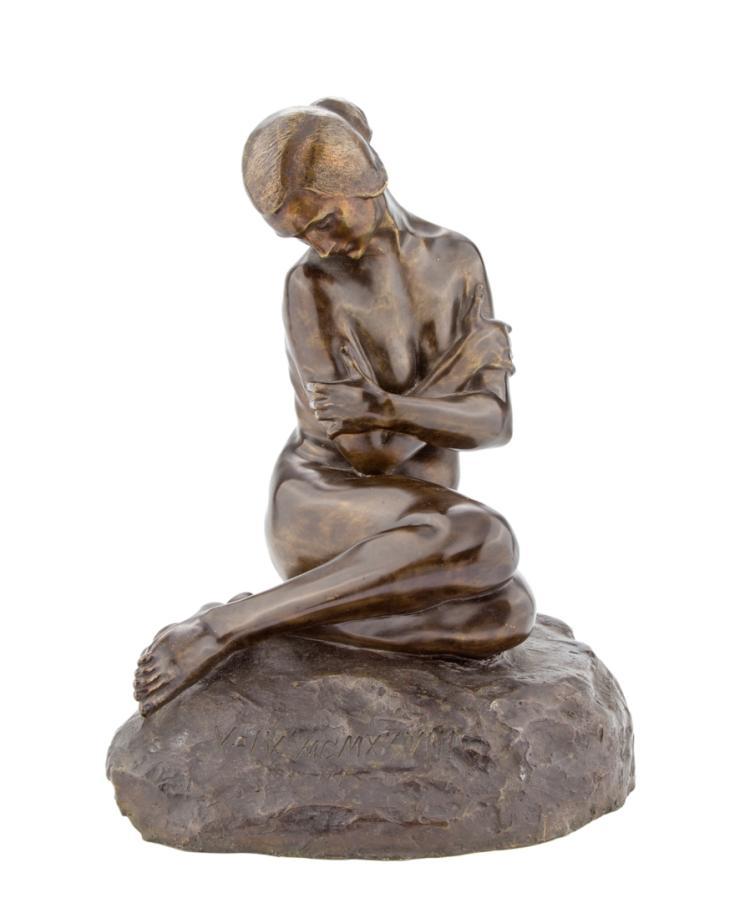 GABRIELE PARENTE | XIX E XX SECOLO | Venus pudica. | Venus demure.