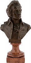 HANS MULLER VIENNA 1873- 1937 Busto di Mozart. | Mozart's bust