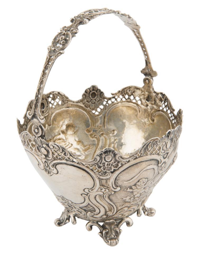 Cestino porta bon bon in argento | Silver bowl