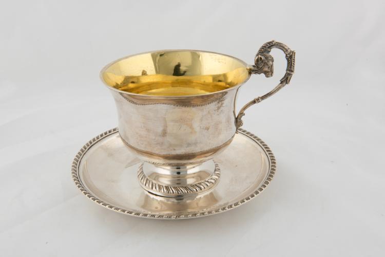 Elegante tazza in argento | Elegant silver Cup