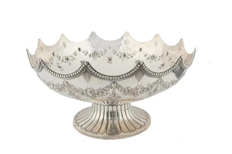 Bella alzata in argento.Città di Londra, Regina Vittoria 1888 | Victorian silver centralpiece