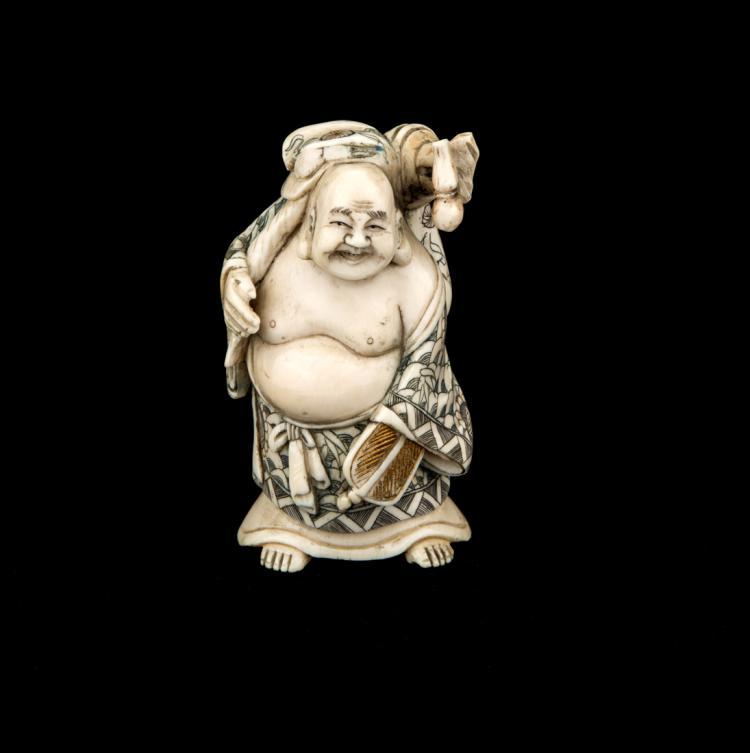 Buddha, avorio. | Buddha, ivory.
