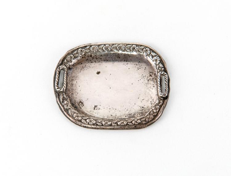 Vassoio in argento | Silver tray
