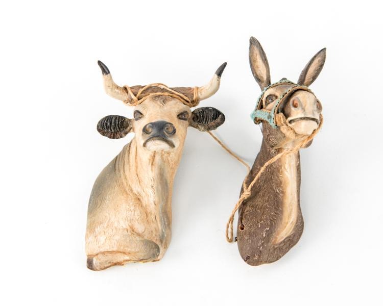 Testa di asino e di bue | Donkey's head and ox