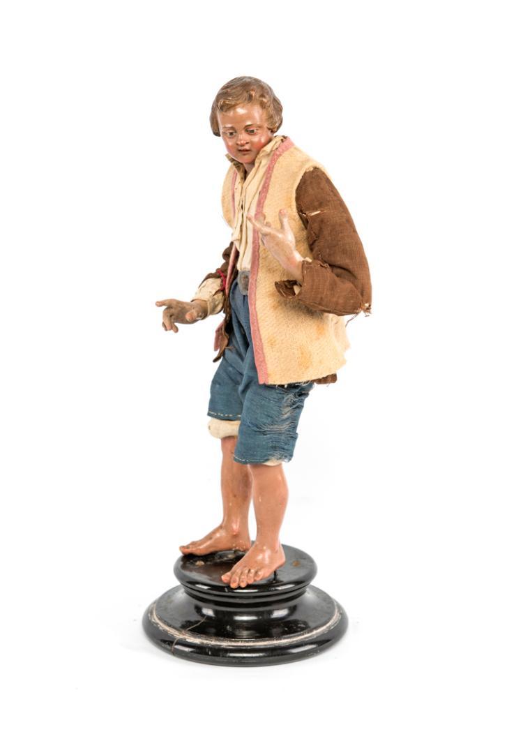 Ragazzo rustico scalzo   Rustic barefoot boy