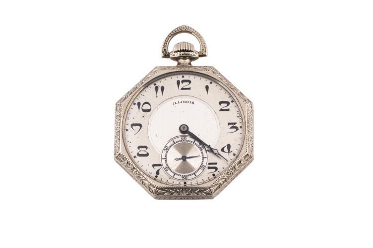 Orologio da tasca Illinois | Pocket Illinois watch