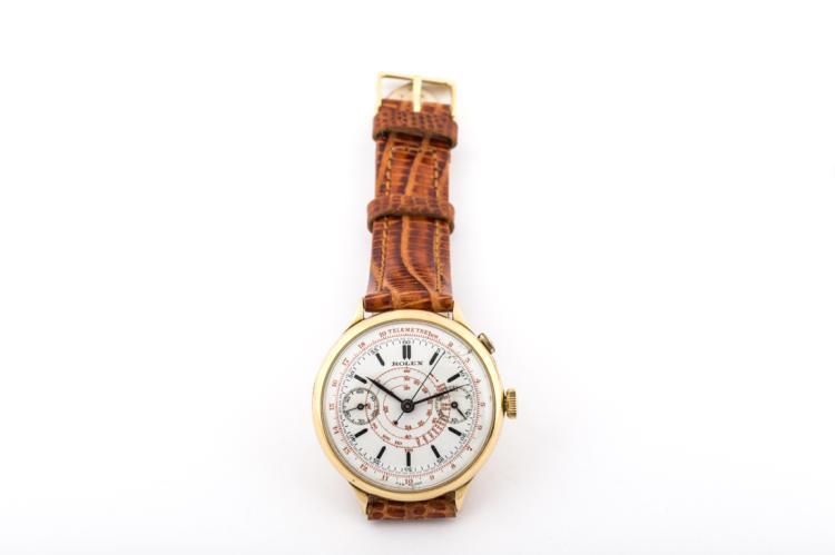 Orologio Rolex Cronografo monopulsante (1935), Serie 2021, funzionante | Rolex mono-pulsar Chronograph (1935)