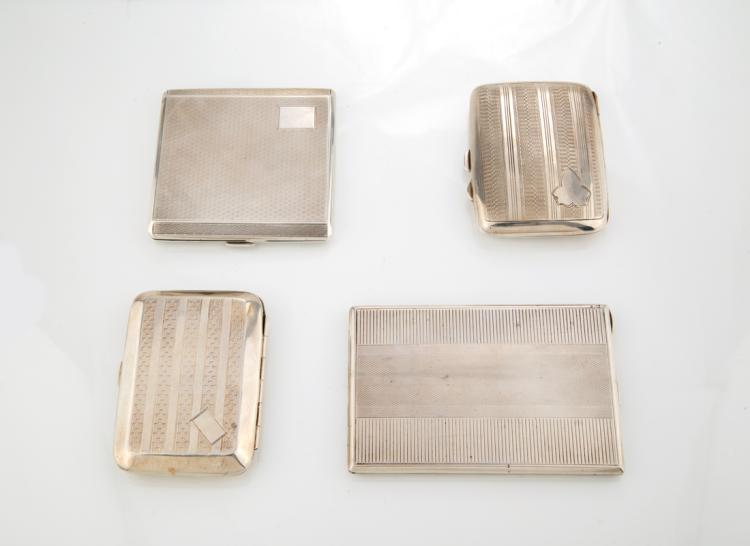 Portasigarette in argento | Silver cigarette cases