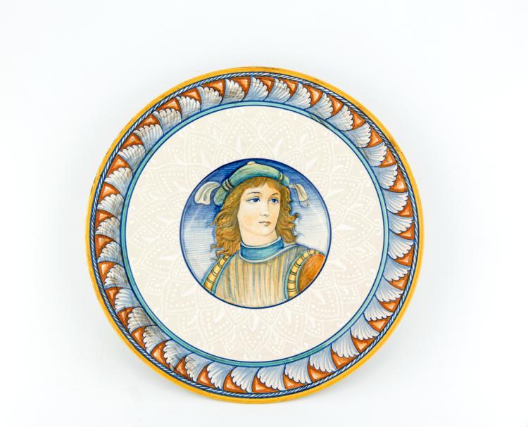 LUIGI BOCCINI | PERUGIA 1939 | Piatti da parata in ceramica | Ceramic parade plates
