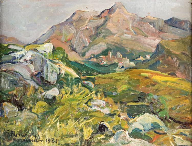 GIUSEPPE RIVAROLI | CREMONA 1885-ROMA 1943 | Paesaggio | Landscape