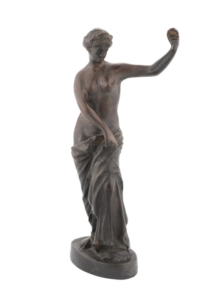 Venere, Scultura in bronzo brunito | Venus, Sculpture in burnished bronze