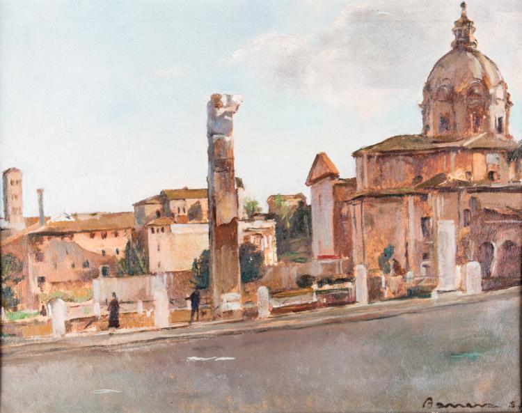 PITTORE DEL XX SECOLO Chiesa dei Santi Luca e Martina ai Fori Imperiali | Fori Imperiali
