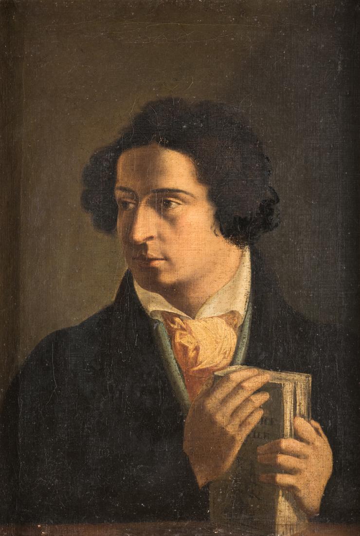 PITTORE DEL XIX SECOLO Ritratto di gentiluomo | Portrait of a Gentleman
