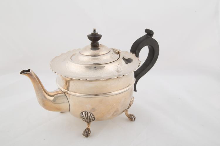 Teiera in argento, Città di Birmingham | Silver teapot, City of Birmingham
