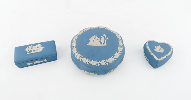 Particolari scatole, Vecchia manifattura di Wedgwood | Boxes, Old manufacture of Wedgwood