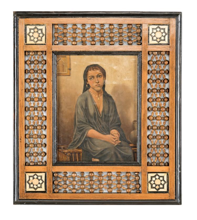PITTORE DEL XIX SECOLO Donna araba | Arab woman