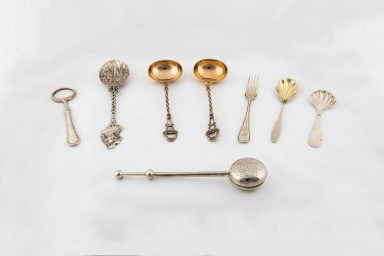 Lotto di oggetti in argento | Lot of silver objects