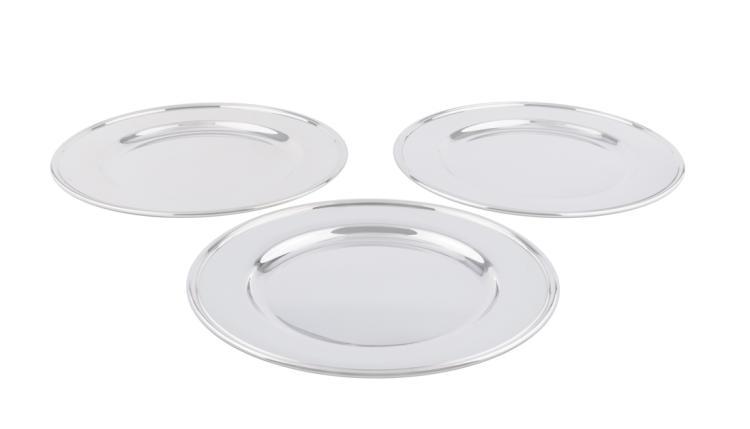 Set di dodici sottopiatti in argento | Set of twelve silver plates