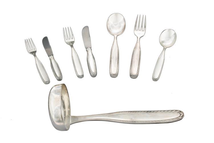 Servizio di posate in argento | Siver cutlery set