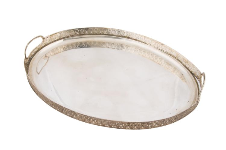 Vassoio ovale in argento | Silver oval tray