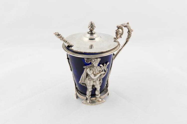 Senapiera in argento | Silver mustard pot
