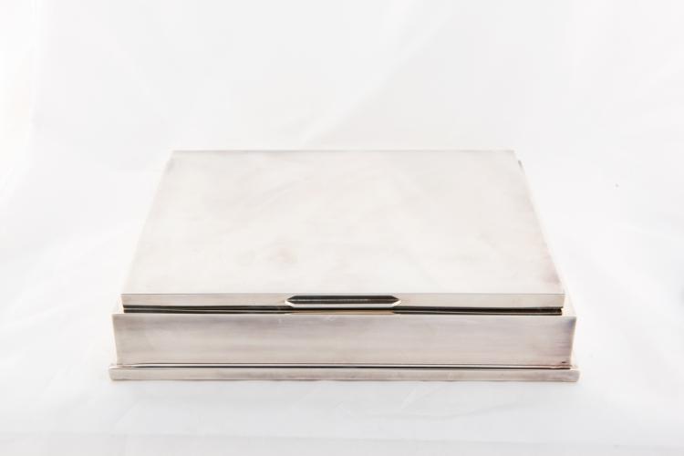 Scatola da Gioco in argento | Box of silver Game