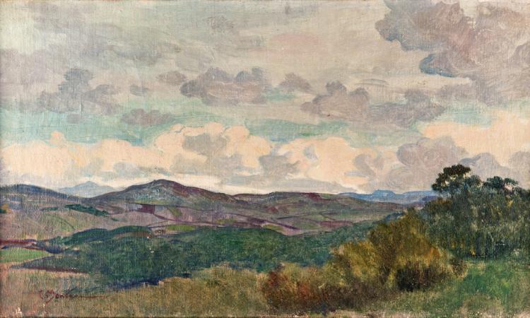 CARLO MONTANI | SALUZZO 1868-ROMA 1936 | Paesaggio | Landscape
