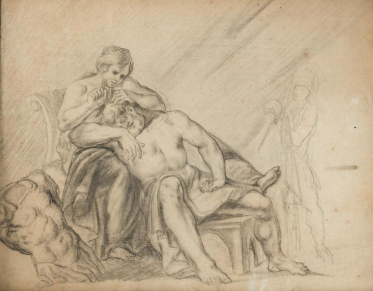 SALVATORE ROMANELLI Sansone e Dalila | Samson and Delilah