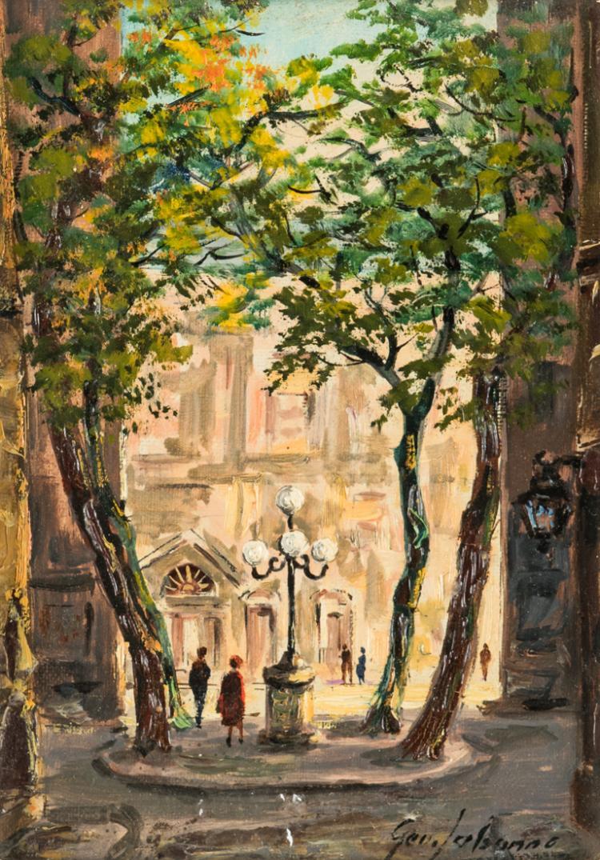 GEO LEBONNE  Parigi Place Furstenberg | Paris Place Furstenberg