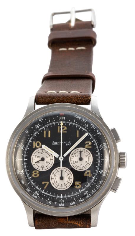 Orologio Eberhard Aviograf acciaio | Eberhard Aviograf watch